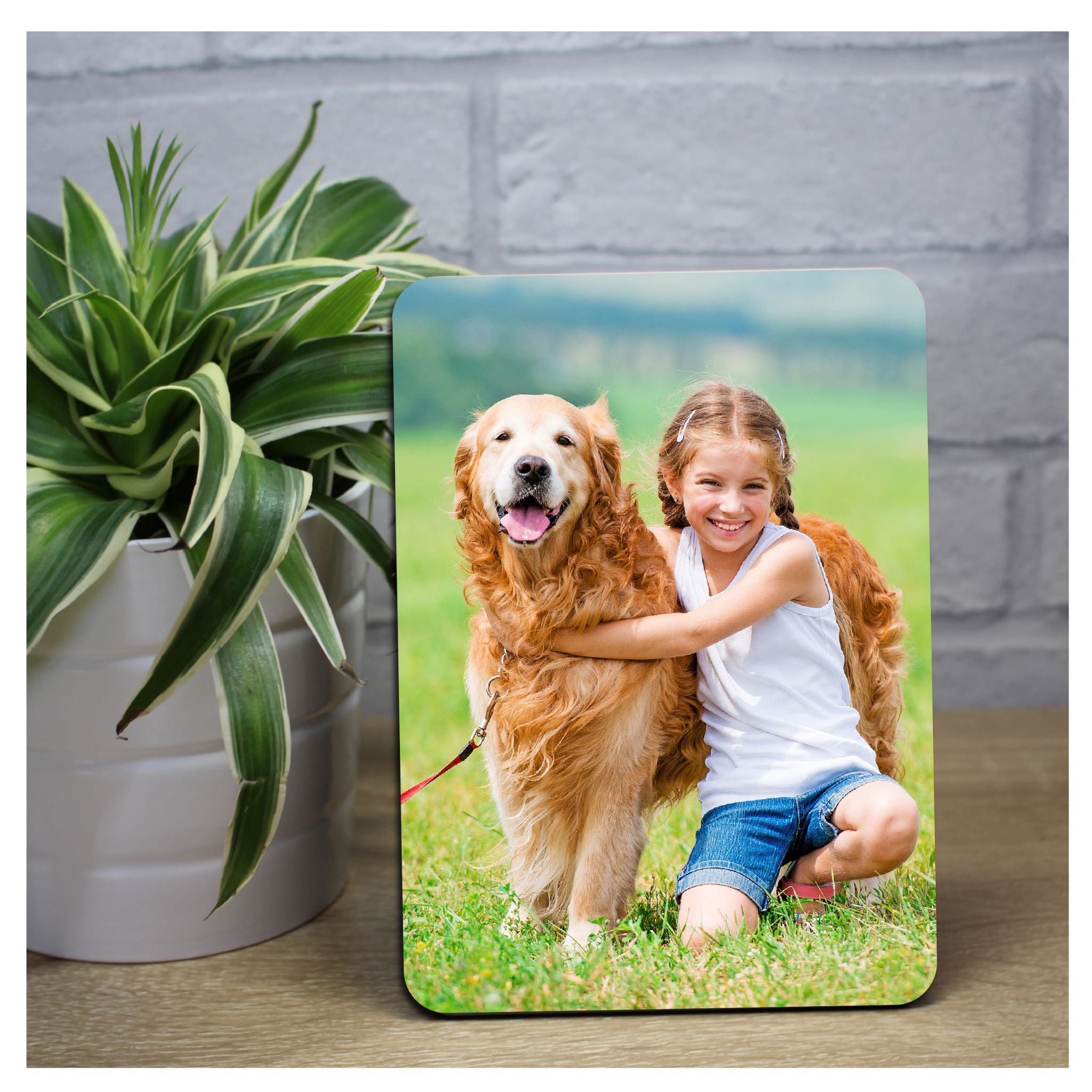 0cbc9e1b59fd Your My Picture Photo on Wood Panel Frame Print - Perfect Gift